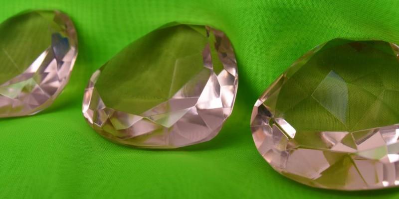 pink crystals small